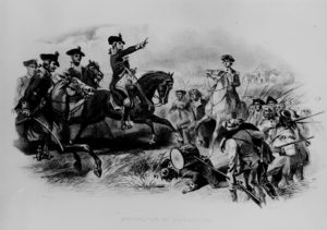 Washington at the Battle of Monmouth